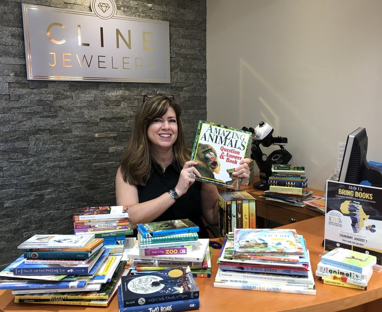 Cline Cares: A Big Thank You for our Book Drive